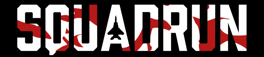 SquadRun_ Logo White + Red - NARROW
